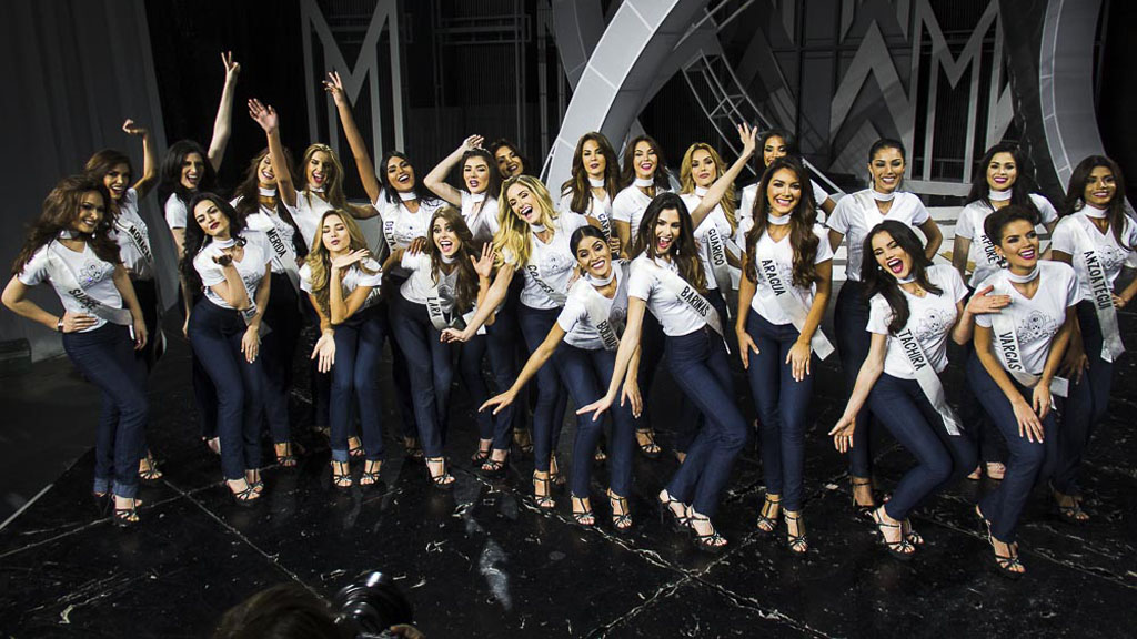 ¡A pocos días! Así se vivió el ensayo general del Miss Venezuela 2017