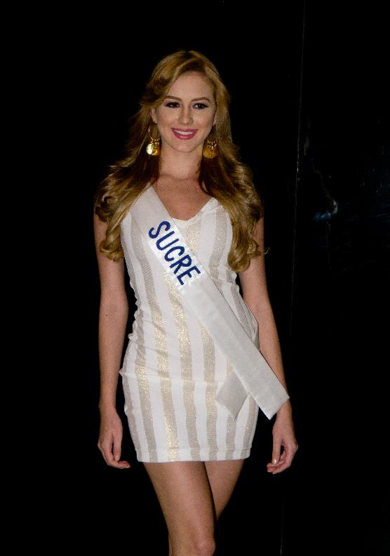 entó a sus candidatasNuestra belleza Venezuela