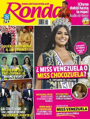 Portada Ronda Miss Venezuela 2017