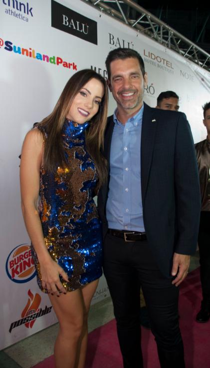 Paula Bevilacqua y Cristobal Lander