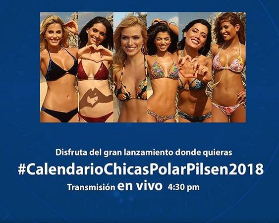 Chicas Polar Pilsen 2018