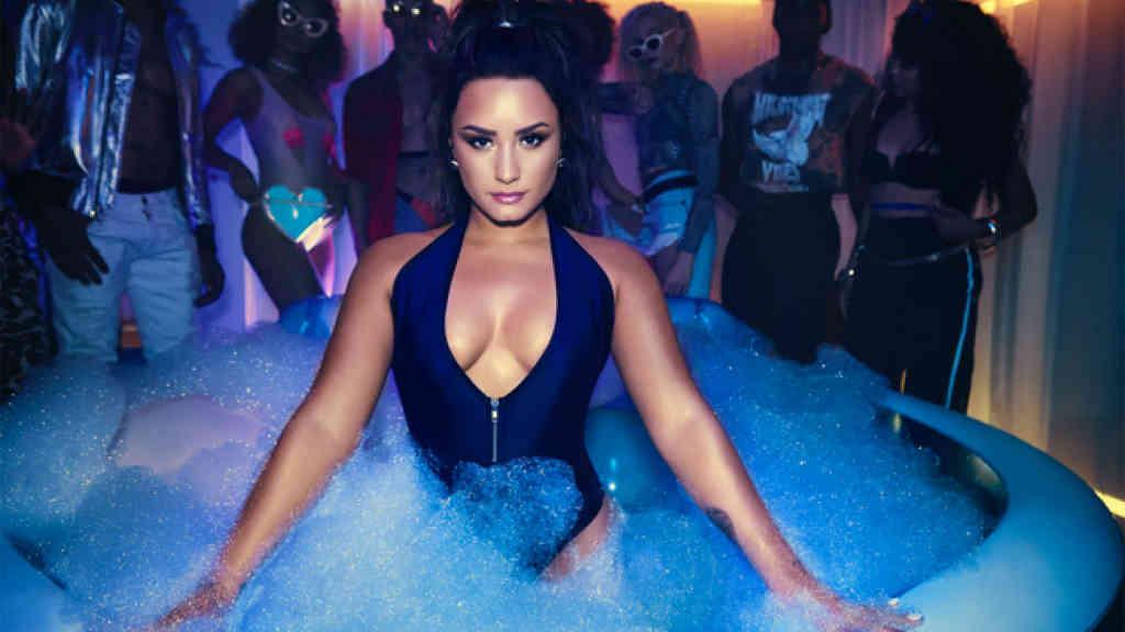 Demi Lovato se mostró muy sexy