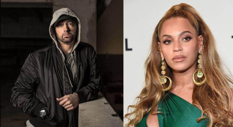 """En tres días, el video clip del tema """"Walk on water"""" de Eminem feat. Beyonce sobrepasa los 7 millones de views"""
