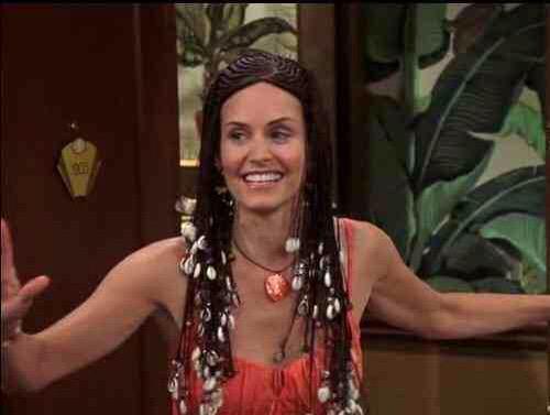 Mónica, protagonista de Friends