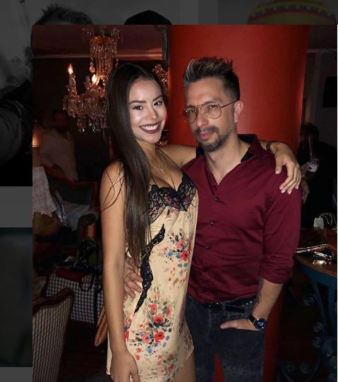 Irrael Gómez y Sharon Hidalgo