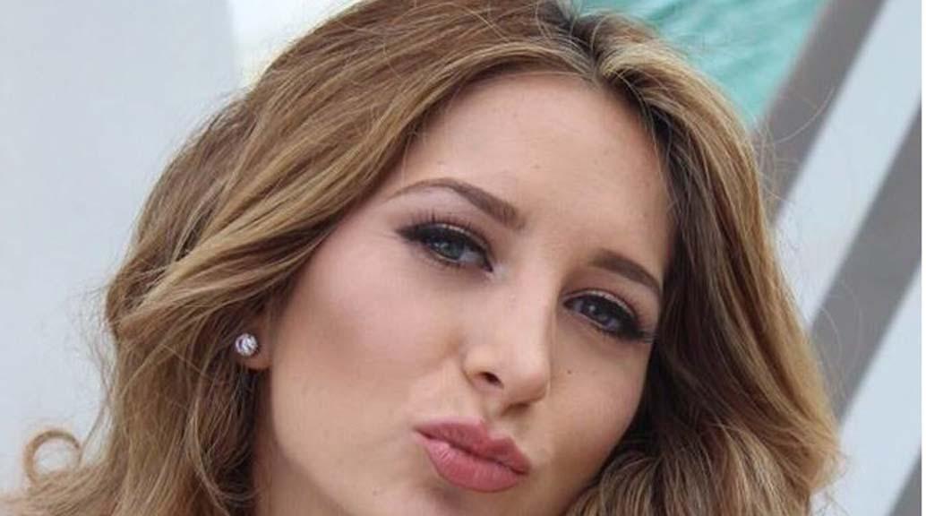 Geraldine Bazán se besa con un hombre y no es Santiago Ramundo (+VIDEO)