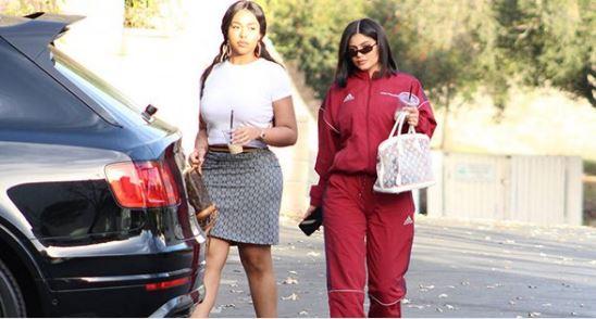 Kylie Jenner y Jordyn Woods