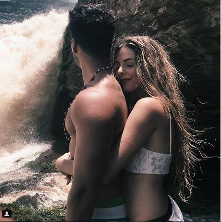 Corina Smith y Gustavo Elis
