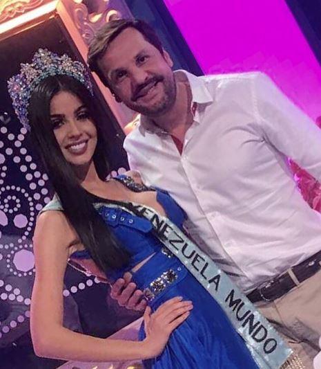 Esteban Velásquez junto a Ana Carolina Ugarte