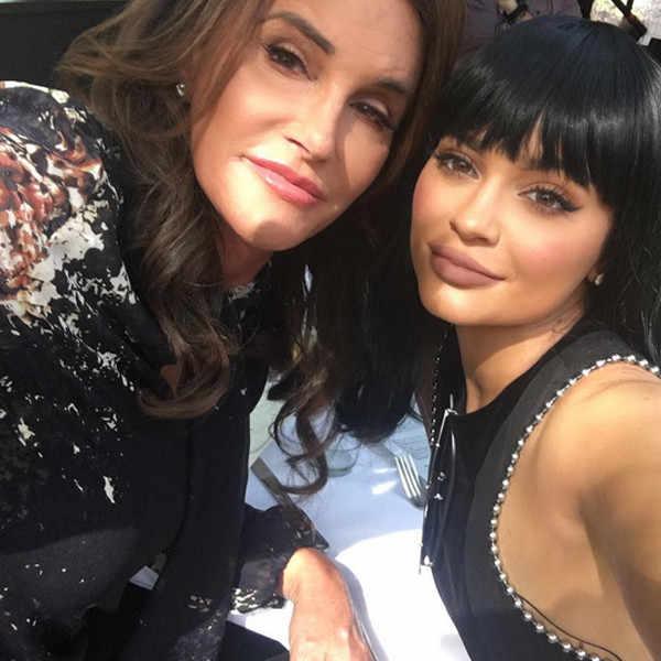 Caitlyn Jenner y Kylie JennerCaitlyn Jenner y Kylie Jenner