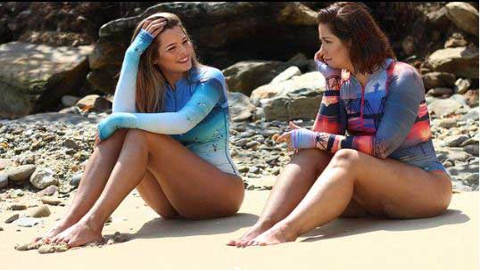751939154 Mariangel Ruiz lanzó su colección de trajes de baño y Daniela ...