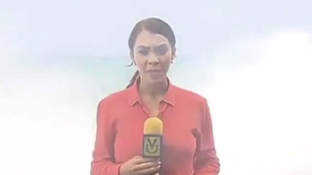 Reportera de Venevisión