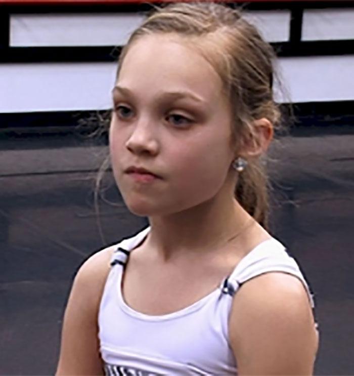 Maddie Ziegler de Dance Moms, es toda una señorita | Revista Ronda