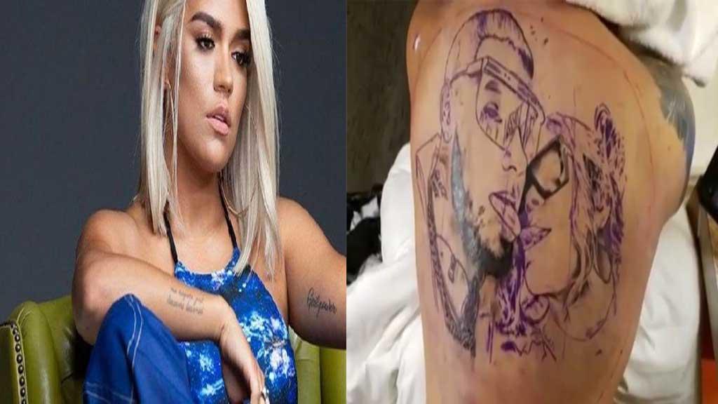 Karol G Responde A Las Criticas Sobre El Tatuaje En La Espalda De