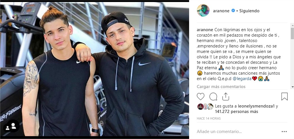Aran One Instagram