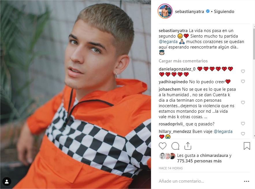 Sebastián Yatra Instagram