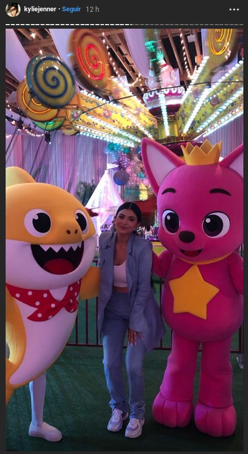 """""""StormiWorld"""": Kylie Jenner celebró el primer año de su hija"""