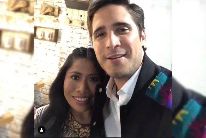 Diego Boneta y Yalitza Aparicio, de las pantallas a promocionar shampoó