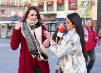 Andreina Veliz deja los trapos en Madrid