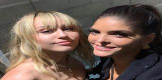 Miley Cyrus y Ana Bárbara ahora amiguísimas