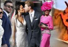 Victoria Beckham metió la pata en boda