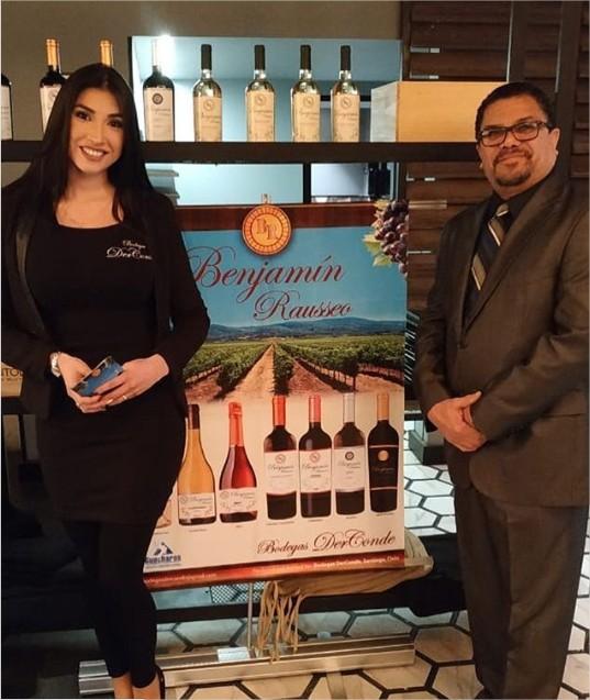 Er Conde se fue a Chile a vender vinos - Revista Ronda