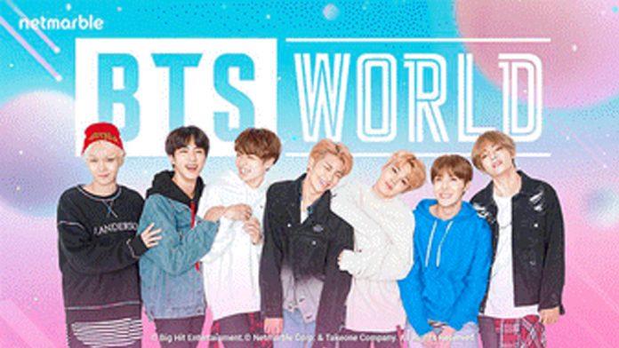 Se viene el lanzamiento del juego BTS WORLD