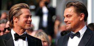 Brad Pitt se burla de Leonardo DiCaprio