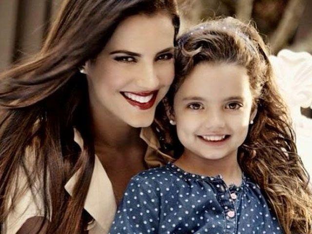 Gaby Espino celebró el cumpleaños de la hija con sus ex
