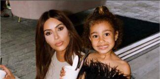North West marcó más tendencia que Kim Kardashian con su look