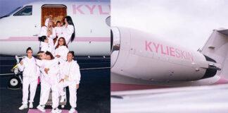 Esta Kardashian personalizó su jet privado