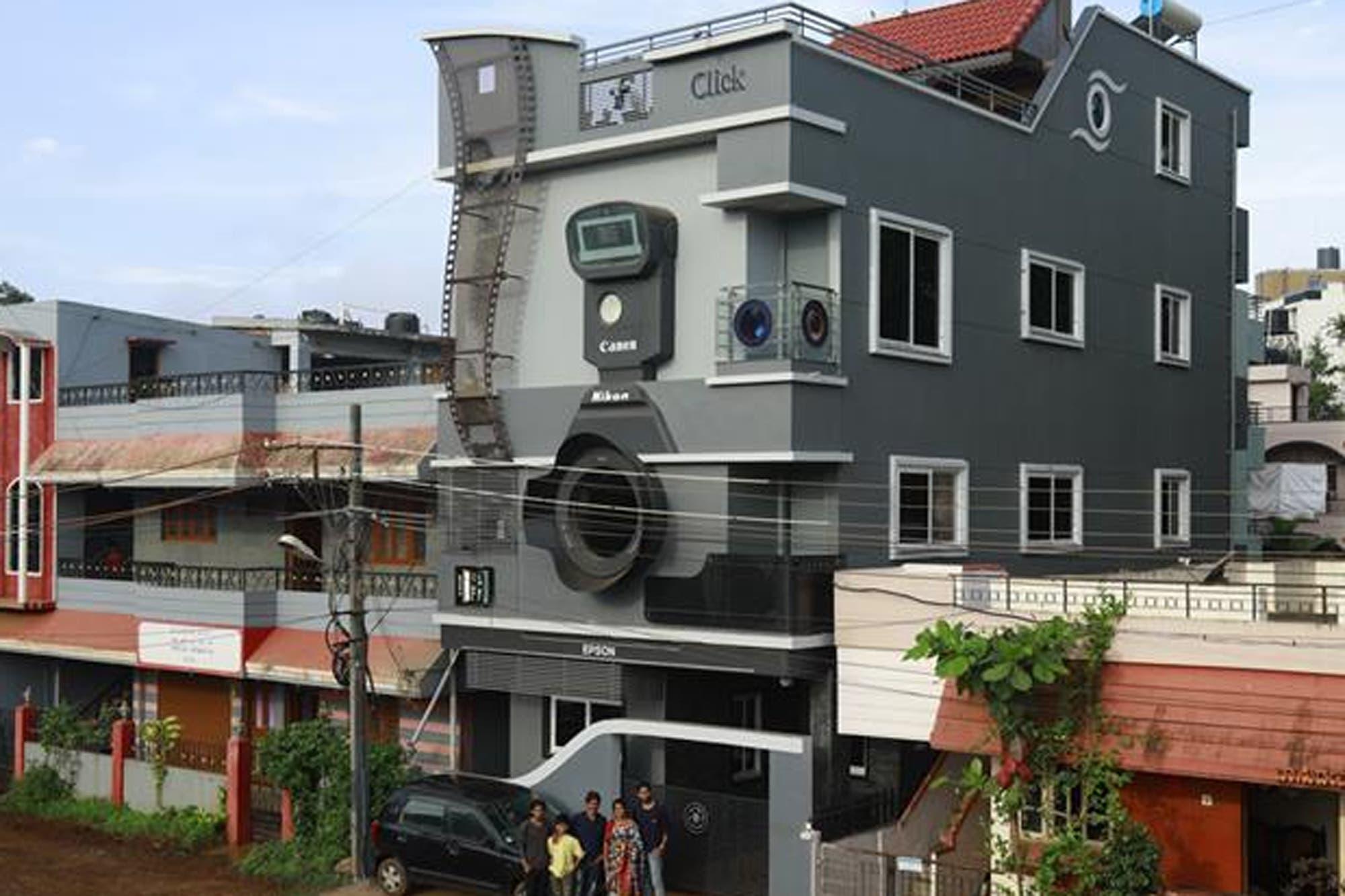 Fotógrafo-casa