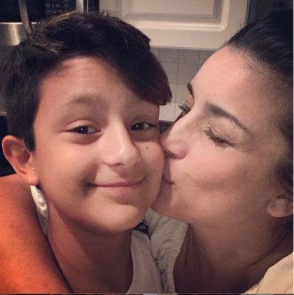 Karina y su hijo Xander-Foto-Cortesia