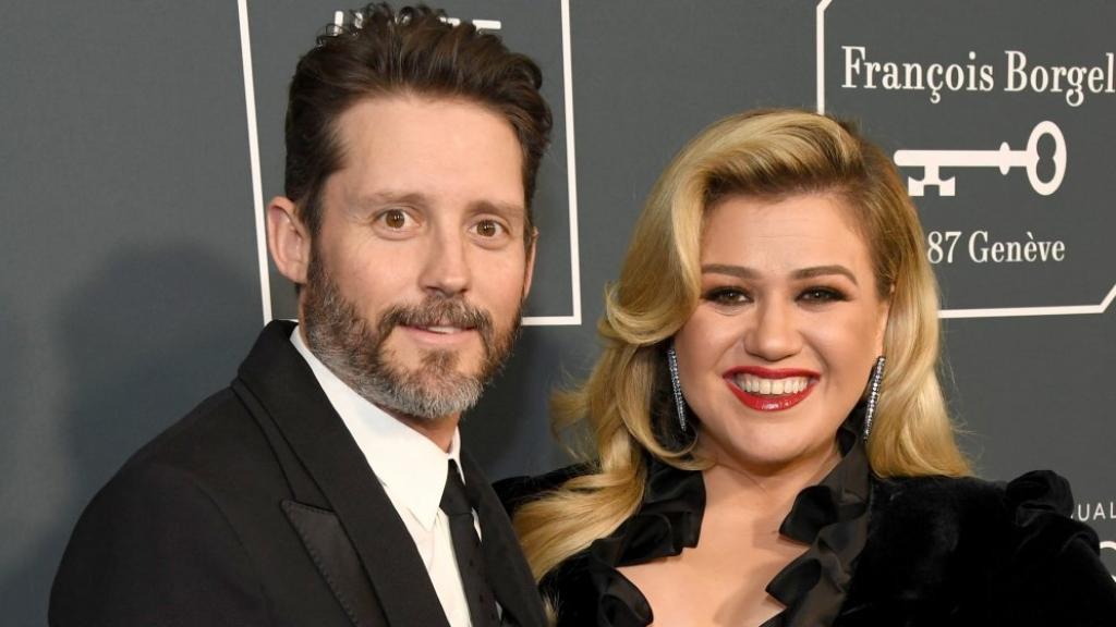 Kelly Clarkson y su ex - Cortesía