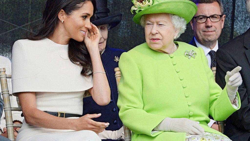 Meghan y la reina Isabel II - Cortesía