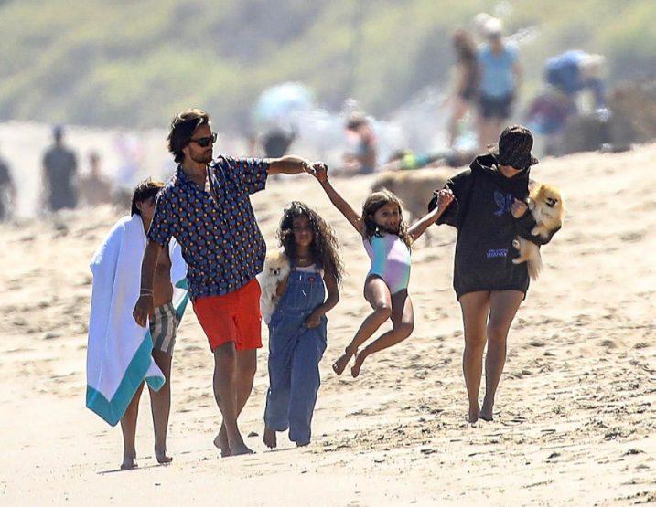 Scott Disick - Kourney Kardashian 19 de julio - Foto-Cortesia