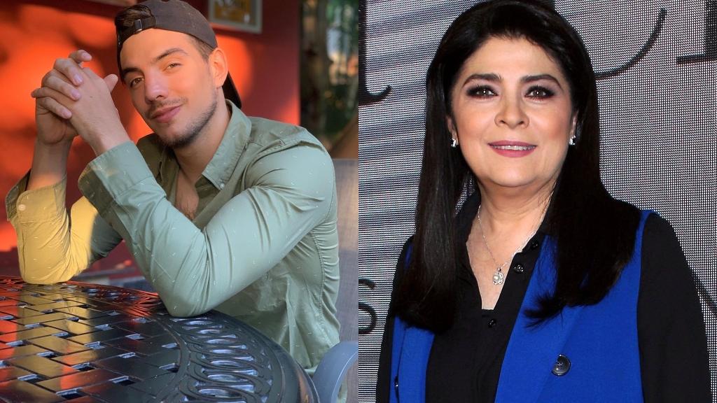 Vadhir Derbez y Victoria Ruffo - Cortesía