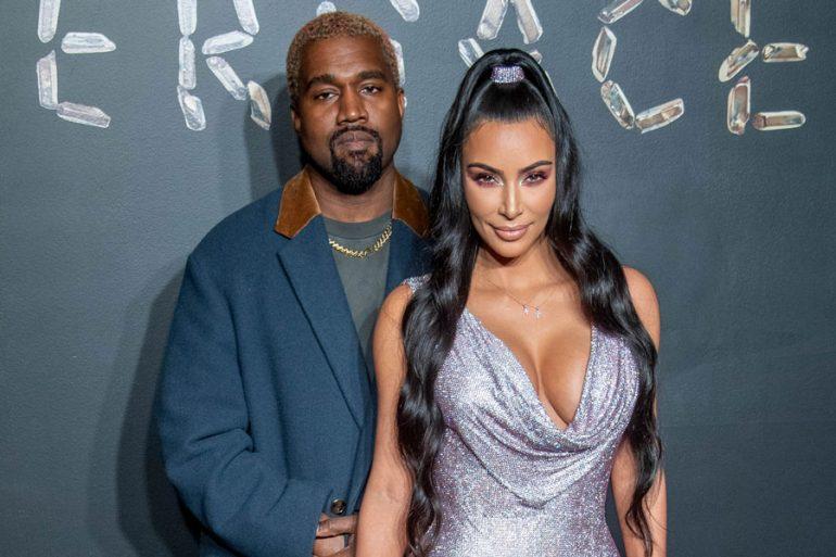 Kanye West y Kim Kardashian - Cortesía