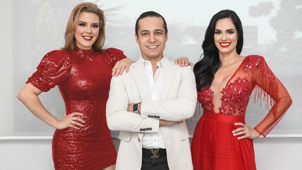 Alicia Machado y Scarlet Ortiz - Cortesía