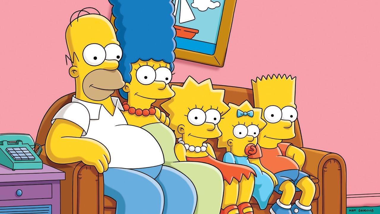 Homero hace volar la ciudad Springfield