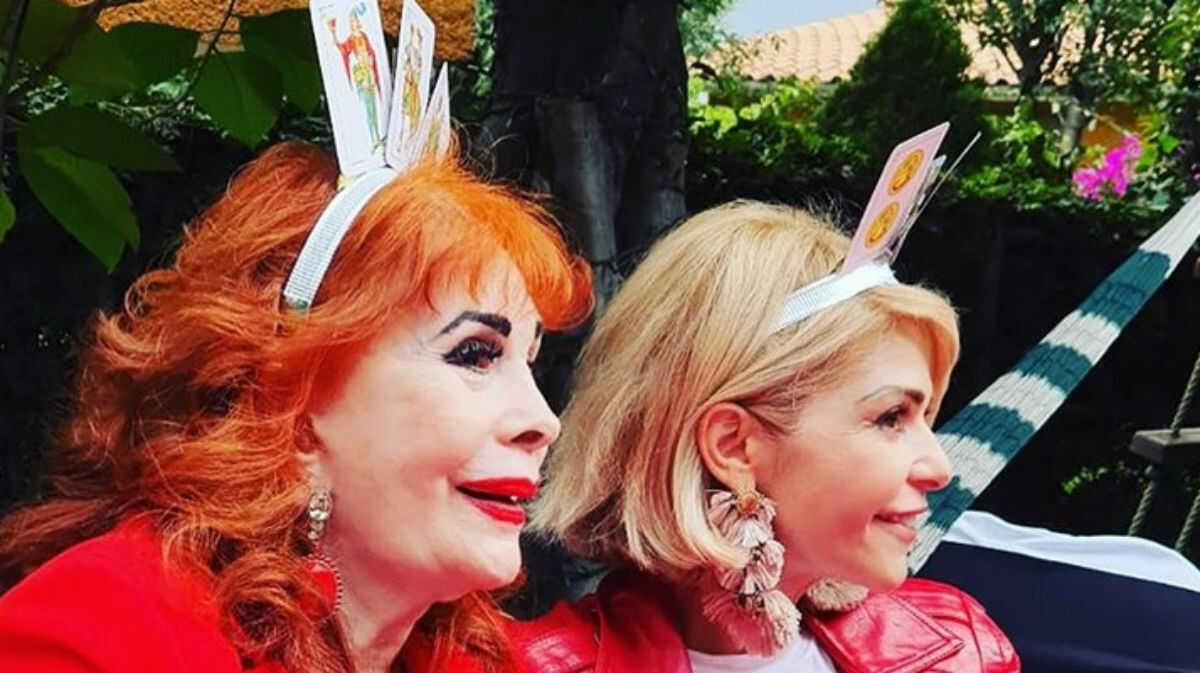 Itatí Cantoral y su madre-Foto-Cortesía