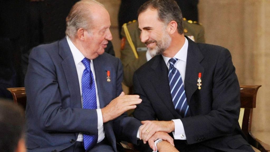 Juan Carlos y Felipe - Cortesía