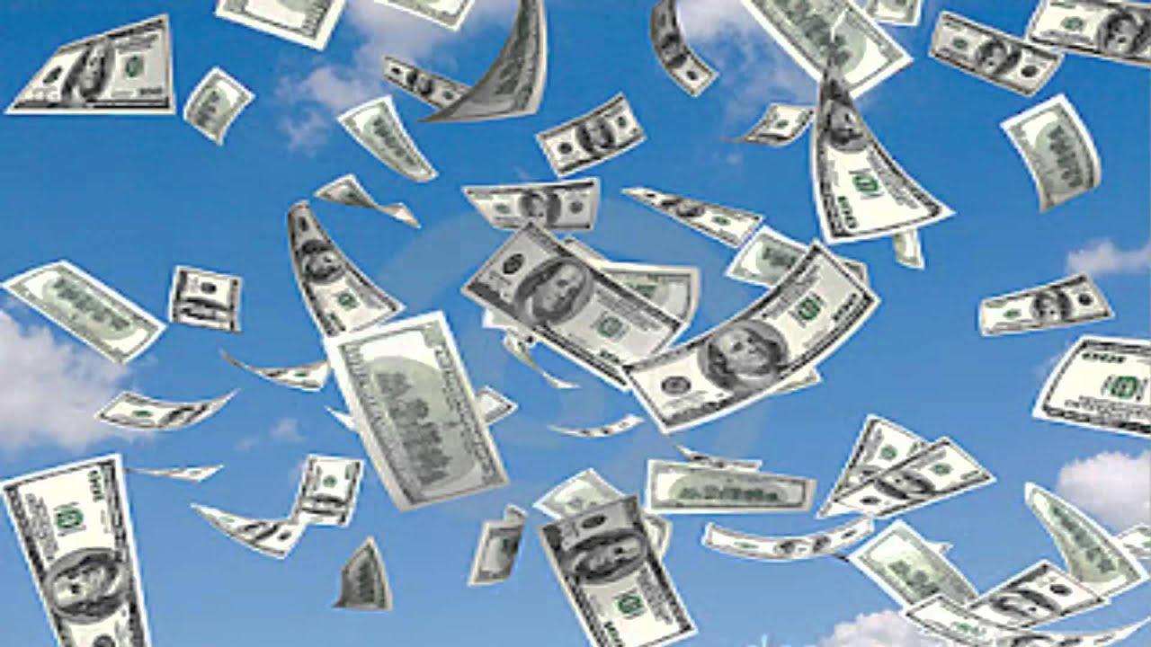 lluvia de dinero - cortesía