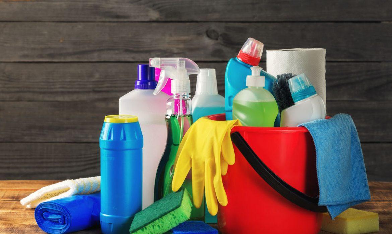 productos de limpieza- cortesía