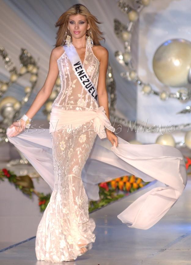 Ana Karina Añez en el Miss Universo 2004 - Cortesía