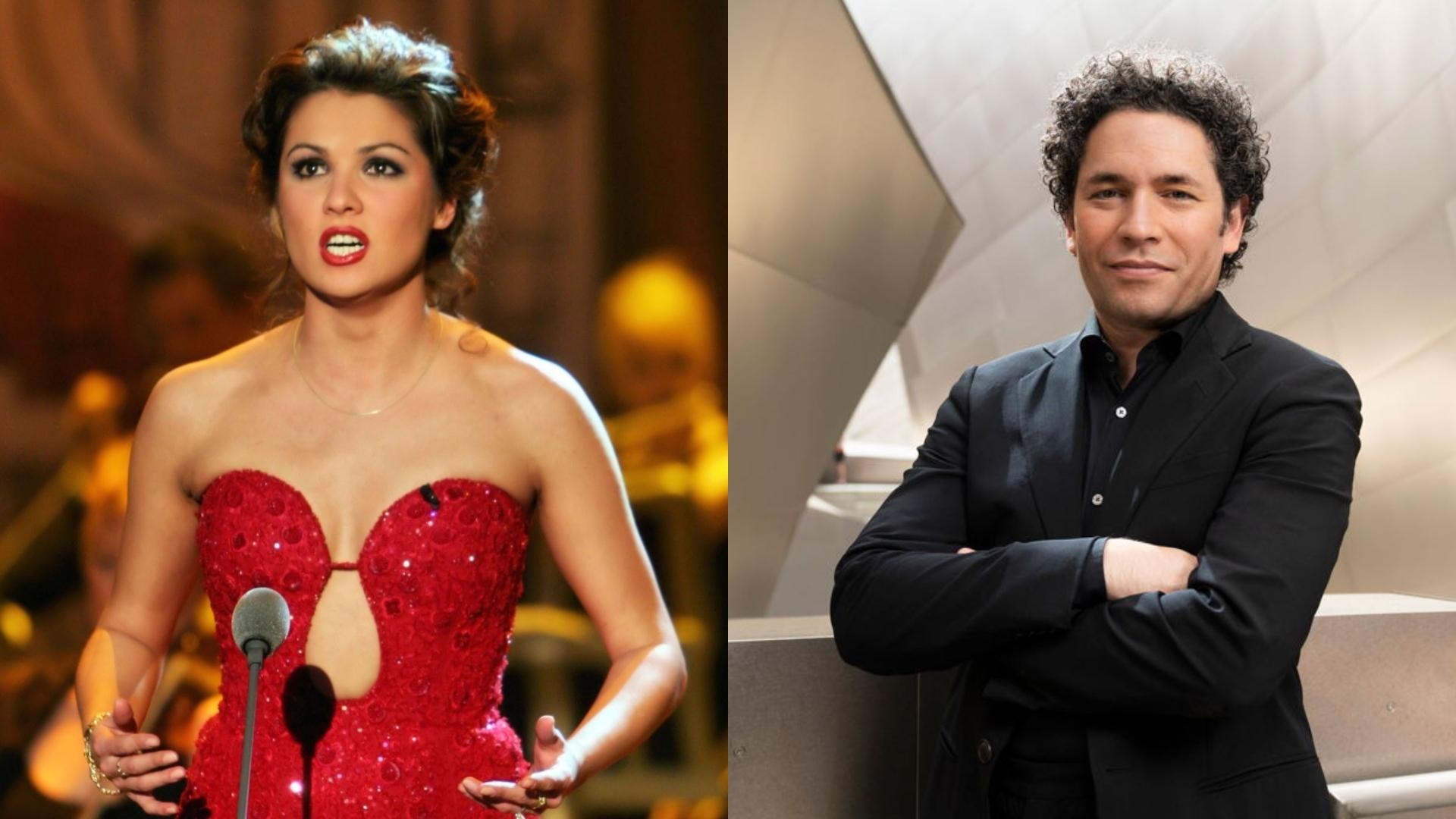 Gustavo-Dudamel-Anna-Netrebko