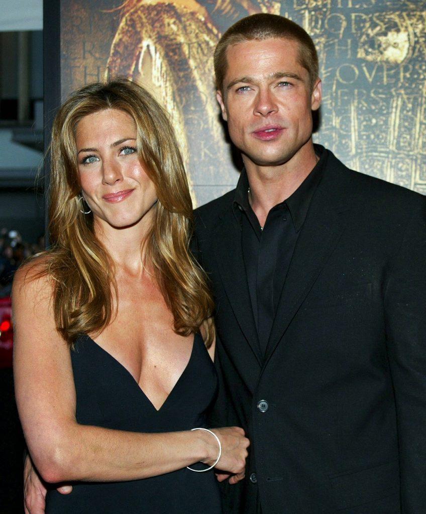 Jennifer y Brad -Foto-Cortesía