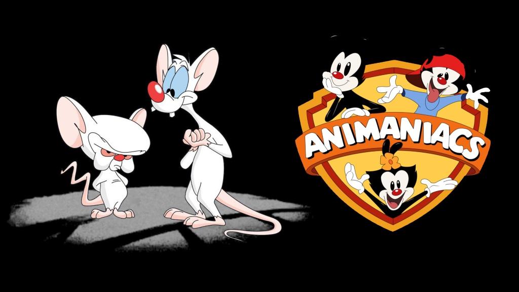 Los hermanos Warner y Pinky y Cerebro- Foto-Cortesía