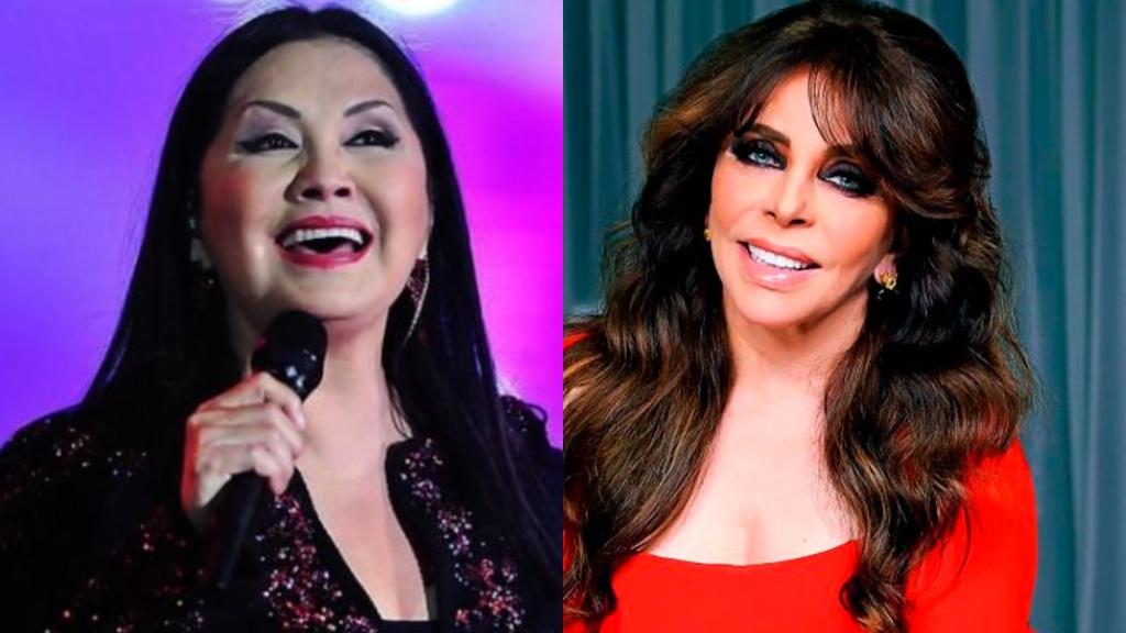 Ana Gabriel y Verónica Castro - Cortesía