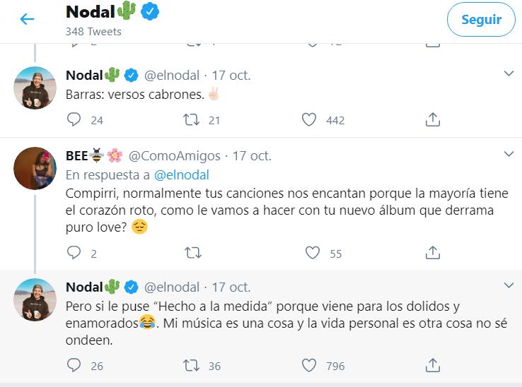 Christian Nodal- Twitter